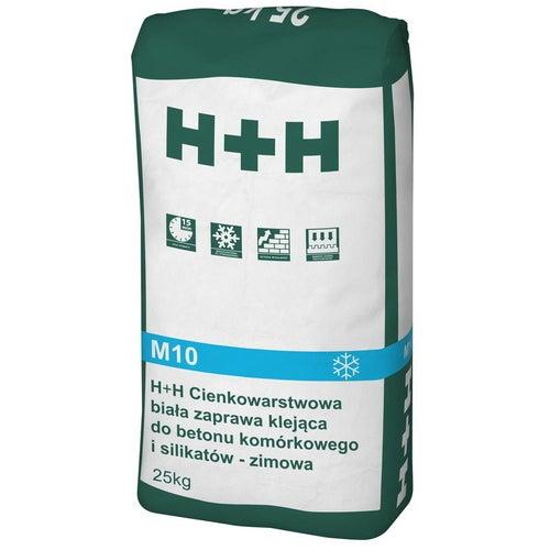 Zaprawa murarska cienkowarstwowa H+H 25 kg, zimowa