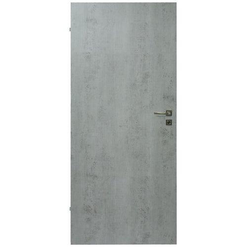 Skrzydło pełne Deco 90 lewe beton