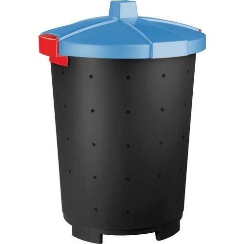 Kosz na śmieci Mattis 45 l niebieski