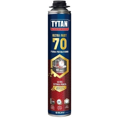 Piana poliuretanowa montażowa Tytan Ultra Fast 70 870 ml, pistoletowa