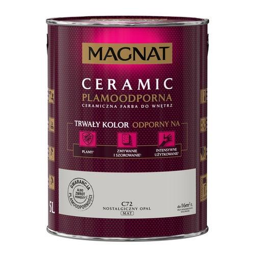 Farba Magnat Ceramic nostalgiczny opal 5l