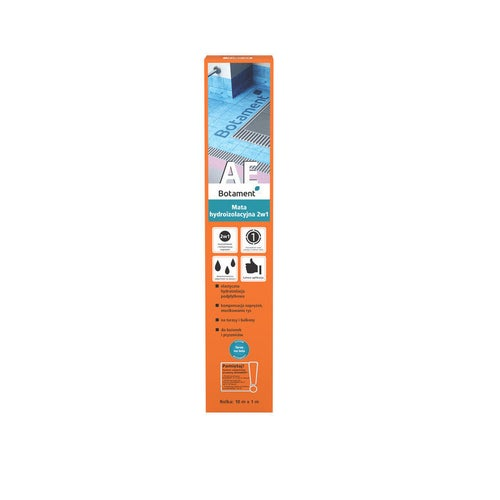 Mata hydroizolacyjna Botament AE 10mb