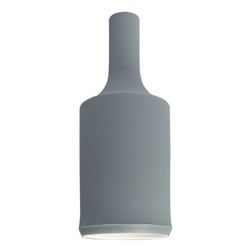 Oprawka E27 silikonowa, szara LH0104