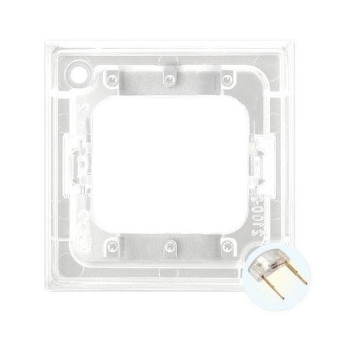 Ospel Aria biały zespół podświetlenia LED do biały łącznik