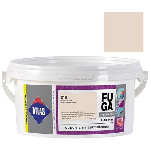 Fuga epoksydowa Atlas 018 beż pastelowy 2 kg