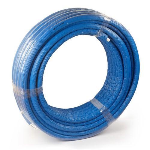 Rura Pex/Al/Pex 26x3 mm w otulinie niebieskiej 6 mm 1 mb
