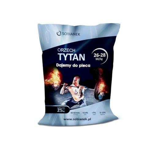 Węgiel kamienny Orzech Tytan 26 MJ 25 kg