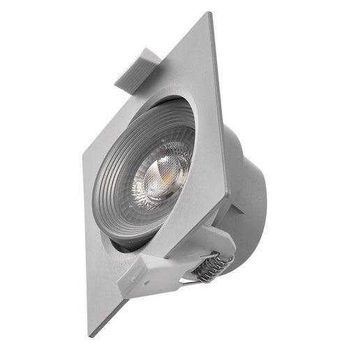 Oczko sufitowe LED 7W 500lm 4000K IP20 srebrne
