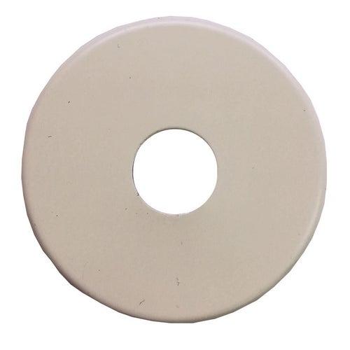 Rozeta pojedyncza do zaworów ø 25 mm, 58 mm, biała