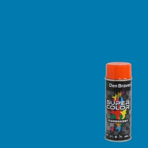 Spray Den Braven Super Color niebieski 400ml