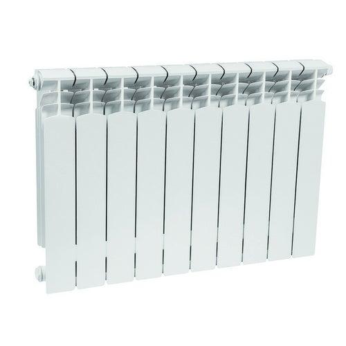 Grzejnik aluminiowy G500F/D, 10-elementowy, biały