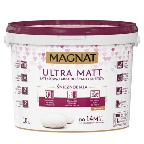 Farba Magnat Ultra Matt biała 10l