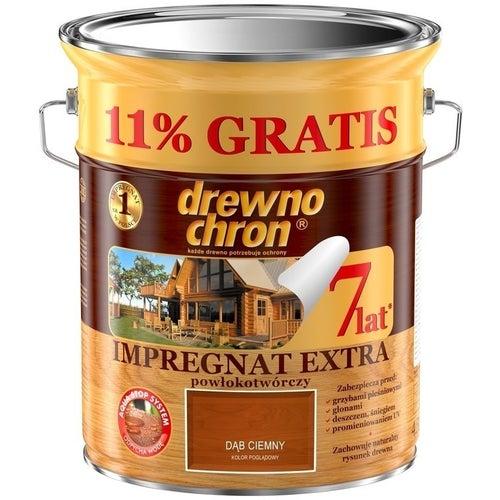 Impregnat Drewnochron Extra dąb ciemny 4,44l