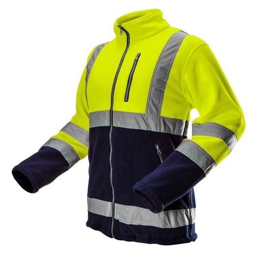 Bluza robocza polarowa ostrzegawcza żółta 81-740 NEO, rozm. 2XL (56)