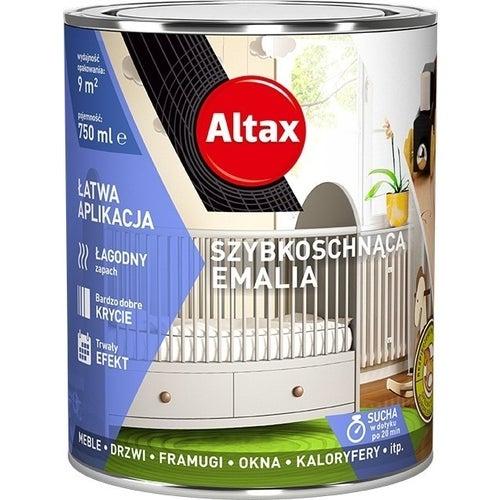 Emalia Altax Szybkoschnąca antracyt 0,75l