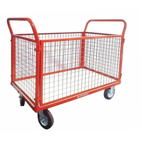 Wózek platformowy osiatkowany 400 kg