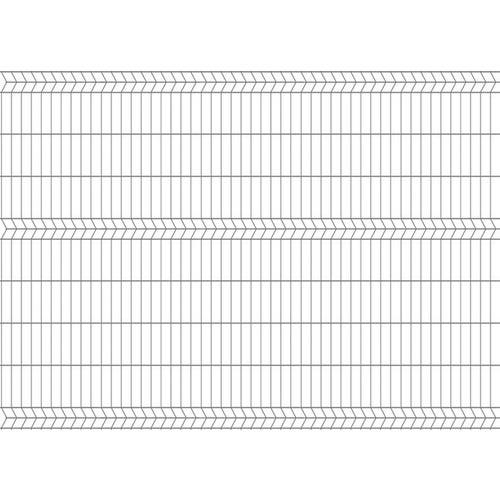 Panel ogrodzeniowy 3D ocynk, 172x250 cm, oczko 50x200 mm, drut 4 mm