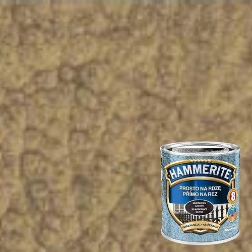 Farba antykorozyja Hammerite złoty młotkowy 0,7l
