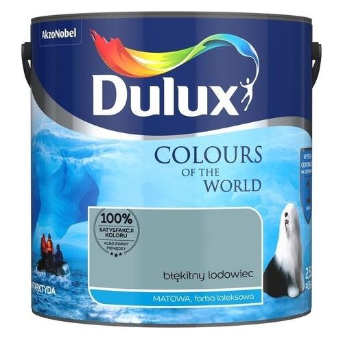 Farba Dulux Kolory Świata błękitny lodowiec 2,5l