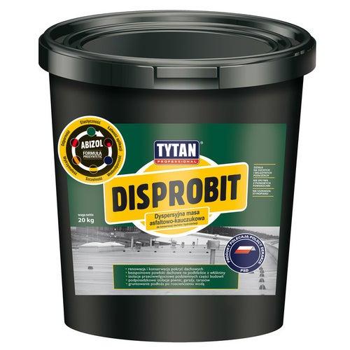 Dyspersyjna masa asfaltowo-kauczukowa Tytan Disprobit 10 kg
