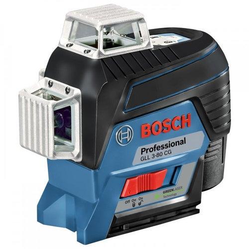 Laser liniowy GLL 3-80 CG + uchwyt BM 1  Bosch