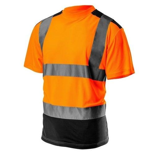 T-shirt ostrzegawczy pomarańczowy 81-731 NEO, rozm. L (52)