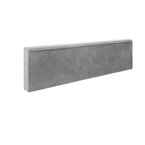 Obrzeże chodnikowe Bruk-Bet szare 100x30x8 cm
