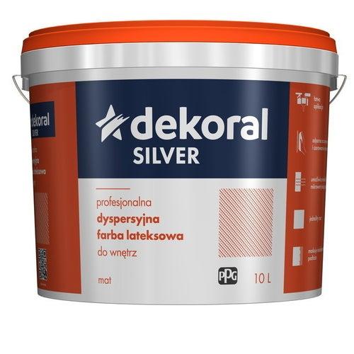 Farba dyspersyjna Dekoral Silver baza B 9,3 l