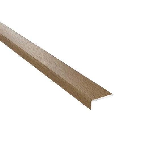 Profil podłogowy CS25 zakończeniowy 1200x25x10 aluminiowy dąb santana