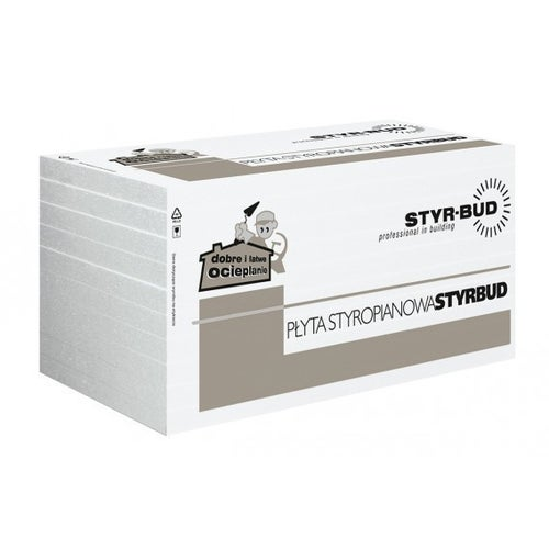 Styr-bud styropian fasadowy 044 grubość 12 cm 0.3m3