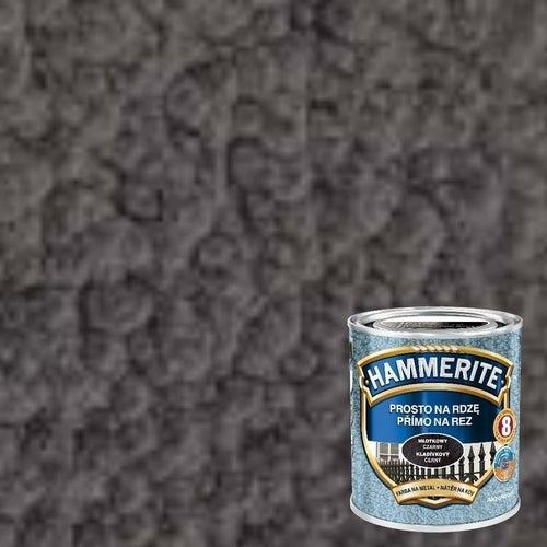 Farba antykorozyja Hammerite szary młotkowy 0,7l