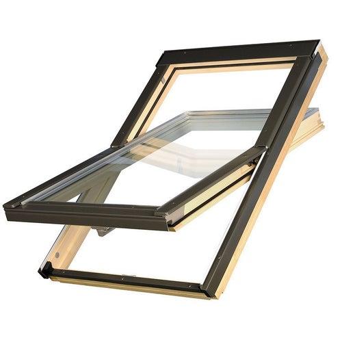 Okno dachowe 3-szybowe OPTILIGHT D-PRO 78x98 cm