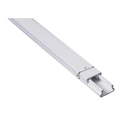 Listwa kablowa MKE 10x17mm UV biały 2m