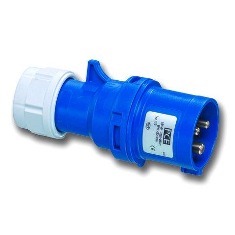 Wtyczka przenośna 16A 230V 2P+Z 400V IP44 PCE