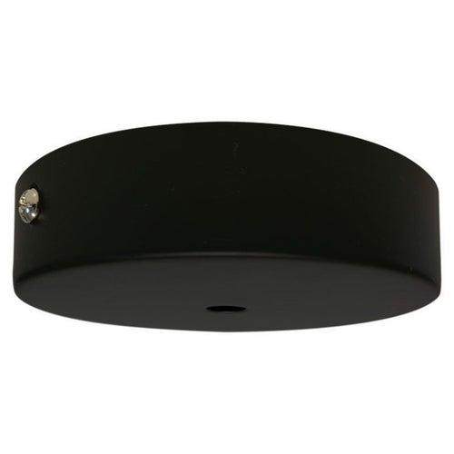 Podsufitka metalowa, czarna LH0702