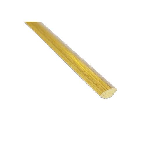 Ćwierćwałek PVC 14x14x2500 mm Dąb
