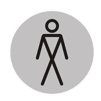 Znak informacyjny WC PAN 75 mm