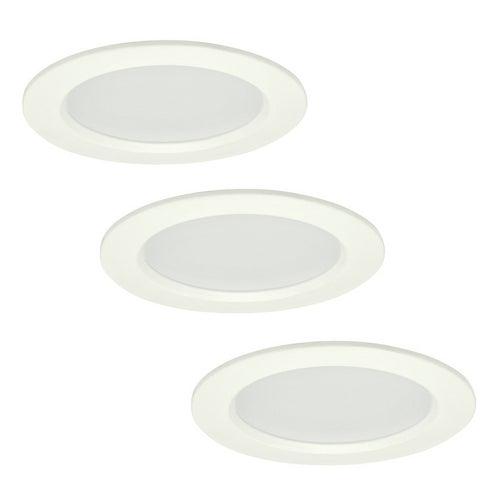 Zestaw oczek sufitowych MIRO LED 4W, 280lm, 3000K, IP44 białe