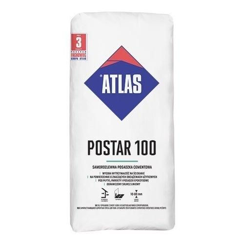 Posadzka cementowa Atlas Postar 100, CT-C50-F7-A15 25 kg, 10-80 mm