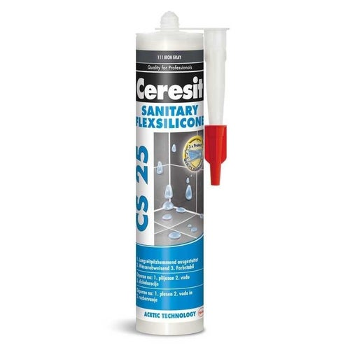 Silikon sanitarny CS25 iron grey 280 ml