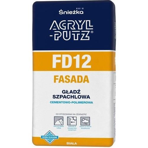 Gładź szpachlowa Acryl Putz FD12 Fasada 2kg