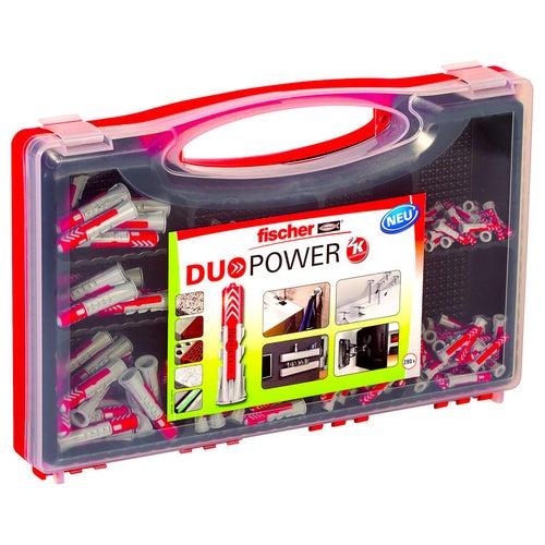 Zestaw kołków uniwersalnych DUOPOWER RED BOX (280 szt.)