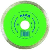 Tarcza diamentowa pełna 125x22,2 mm ALFA