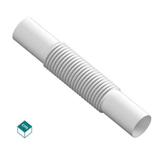 Złączka elastyczna ZCL 25mm UV biała 100szt
