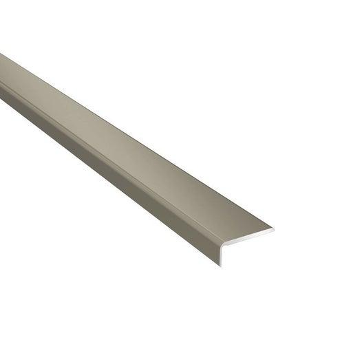 Profil podłogowy CS25 zakończeniowy 1200x25x10 aluminiowy tytan