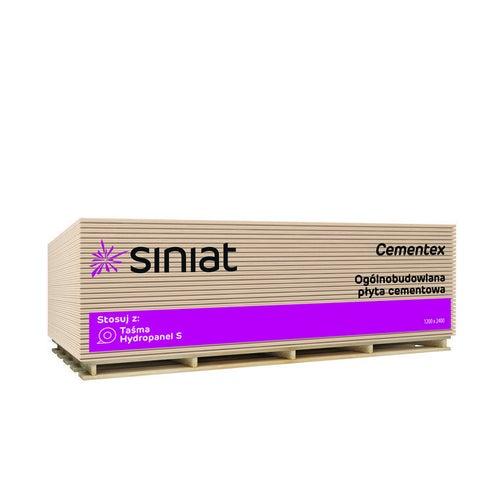 Płyta cementowa Siniat Cementex 1200x2400x6 mm