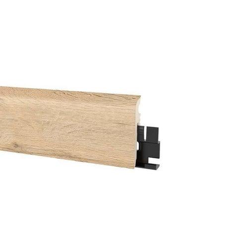 Listwa przypodłogowa Vigo 60 2200x60x15 dąb rossport