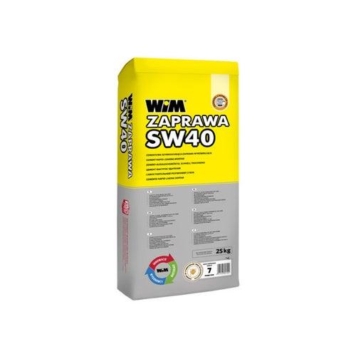 Zaprawa wyrównująca WIM SW40 3-40 mm, 25 kg