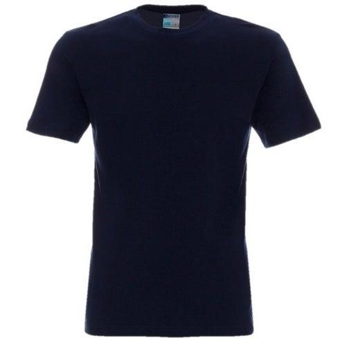 Koszulka trzypak (szara, 2 x granat), rozm. S (44)