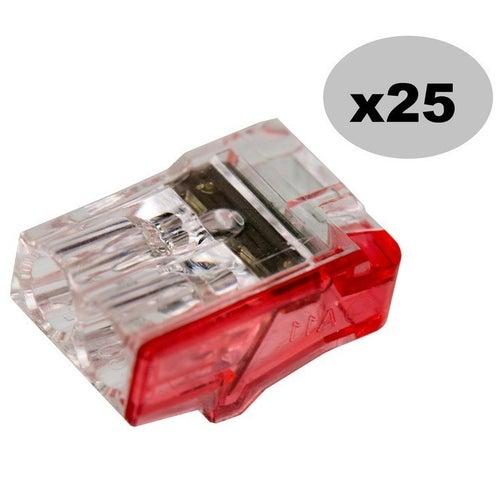 Szybkozłączka 2x2,5mm2 25szt